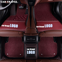 Автомобильные дорожные автомобильные коврики для Ford LOGO Ford EDGE EXPLORER F 150 Focus Mustang C MAX Everest Mondeo Таурус автомобильные коврики