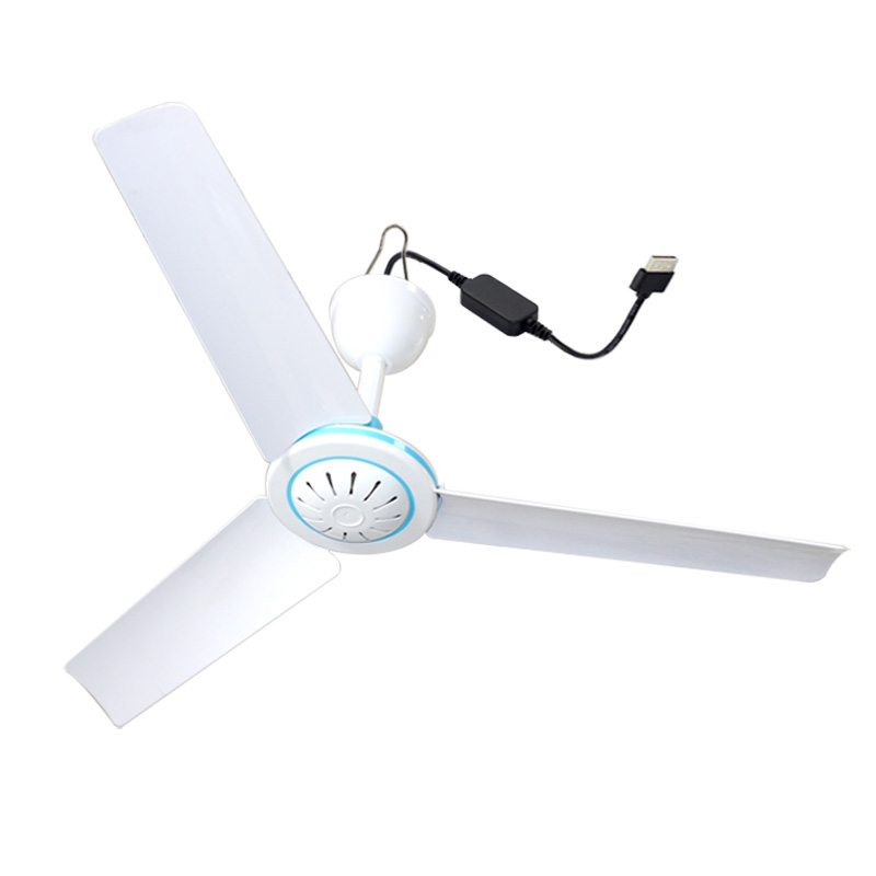 USB MINI ceiling FAN DC 12V small ceiling fan USB outdoor mini fan bed, mosquito net, student hostel home travel fan 50cm ceiling