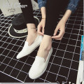 2017 Candy Solid Color Shallow Mouth Unisex Canvas Shoes Women Casual Shoes Pedal Lovers Fashion Shoes slip-on Size 35-40