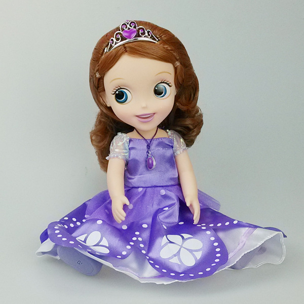 new arrival baby toy 30cm 12 inch sofia princess doll plastic toy toys for children babies kids. Black Bedroom Furniture Sets. Home Design Ideas