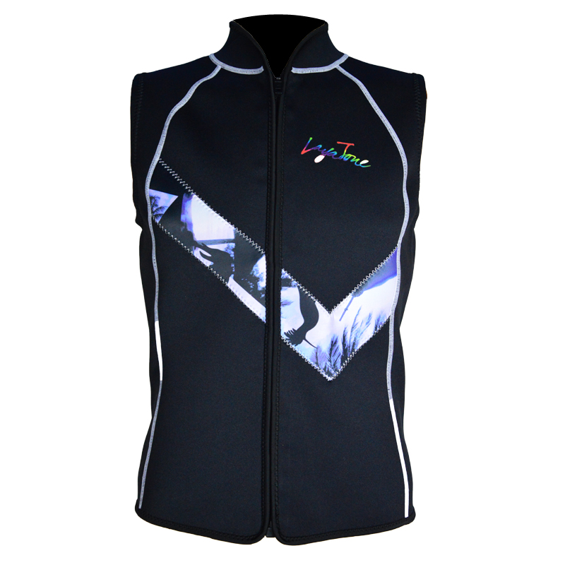 Layatone nedvesruha mellény férfiak 3mm neoprén búvárruha felső mell szörfözés snorkeling horgászruha ujjatlan búvárkodás mellény