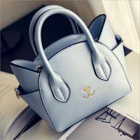 Autumn And Winter Black White Sailor Moon Luna Artemis Hand Bag Samantha Vega Handbag Cat Ear