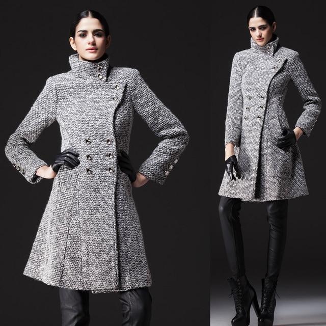 9c9f3ccdc6 Nuevas mujeres del estilo militares diseñador chaquetas