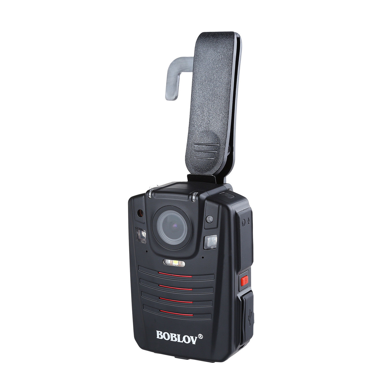Image 3 - BOBLOV HD66 07 Body Police Video Camera 2 Batteries DVR 64GB Law Enforcement Cam 16X digital zoom 170° Wide Angle Pocket CameraSurveillance Cameras   -