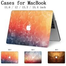 Fasion Para MacBook Notebook Laptop Sleeve Case New Capa Para MacBook Air Pro Retina 11 12 13 15 13.3 15.4 sacos Tablet Torba Polegada