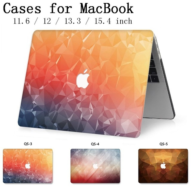 Fasion Para MacBook Notebook Laptop Sleeve Case New Capa Para MacBook Air Pro Retina 11 12 13 15 13.3 15.4 sacos Tablet Torba Polegada