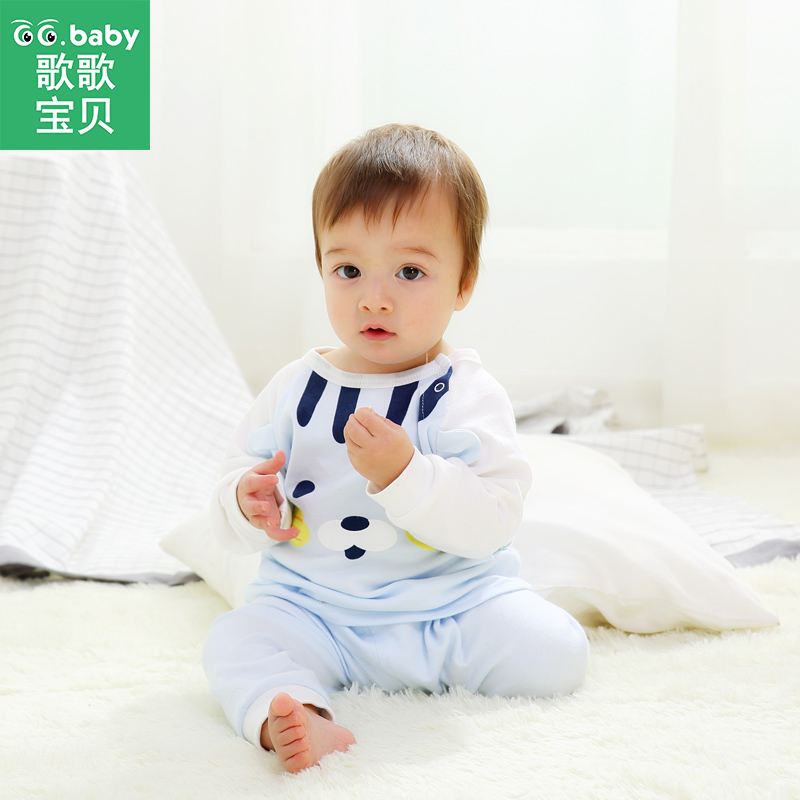 Cartoon Cotton Newborn Spring Boys Clothing Set Pajamas For Bebes Suit T-shirt Pants Set Infant Girl Boy Clothes Sleepwear Sets free shipping children clothing spring girl three dimensional embroidery 100% cotton suit long sleeve t shirt pants