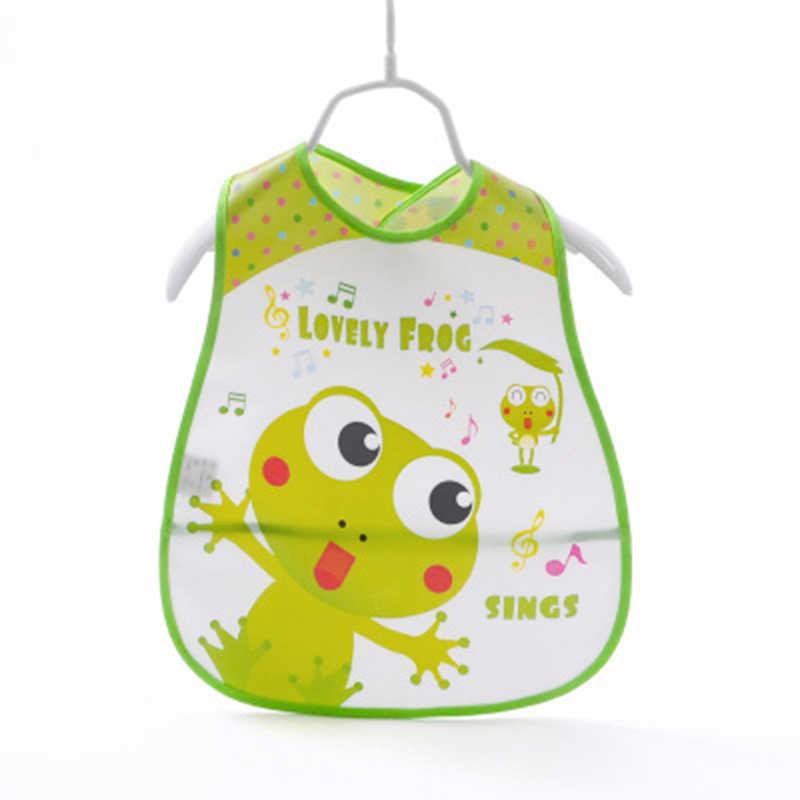 ปรับผ้ากันเปื้อนเด็ก EVA กันน้ำชายหญิงเด็กทารกการ์ตูน Bibs Burp สำหรับเด็ก Self Feeding Care
