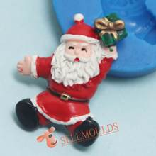 H1013 Kerst Silicone Chocolade Schimmel, Fondant Cake Decorating Gereedschap Mould(China)