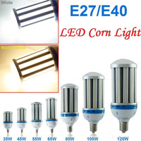 CE UL E27 E39 E40 LED Corn Bulb Light 27W 36W 54W 80W 100W 120W 5730 SMD High Power LED Bulb Aluminum Lamp Lighting AC 85 265V