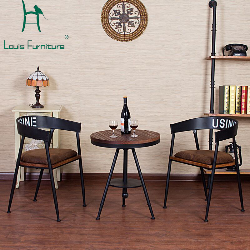 Furniture Dining Chairs French Fashion Style Chairs Popular Stools Coffee House Wine Bar Restaurant High Quality With Strong Leg And Cushion Armchair