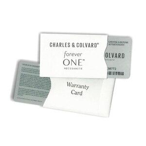 Image 5 - Piedra suelta Real Charles colgard moissanita con certificado Forever One VVS DEF 4,5mm 0.29CT, excelente corte de pruebas positivas