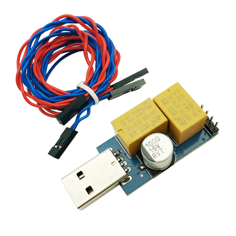 USB компьютер для наблюдения, автоматический перезапуск, синий экран, Майнинг, игровой сервер BTC, Майнер для настольного ПК
