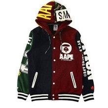 Kpop BTS JIMIN baseballuniform mantel hoody mit hut