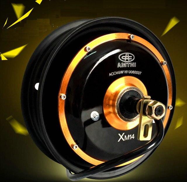10 inch 48V 72V 1500W 40H banden borstelloze DC hub motor ...