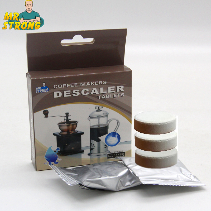 2Box/Lot 2016 Hot Sale High Quality High Efficiency Eco-Friendly Coffee Descaling Tablets Espresso Machine Cleaning Tablets
