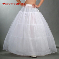 Maphia Wedding In Stock Petticoat Bridal Ball Gown Jupon For Crinoline Skirt Underskirt Vestido Longo Dress