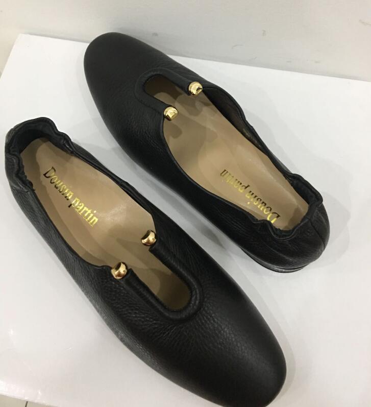 Dame Schuhe Partin 52412563 N Pic As Slip On Schwarz Dousin Wohnungen Frauen Qualität Leder zqxTUwdU8