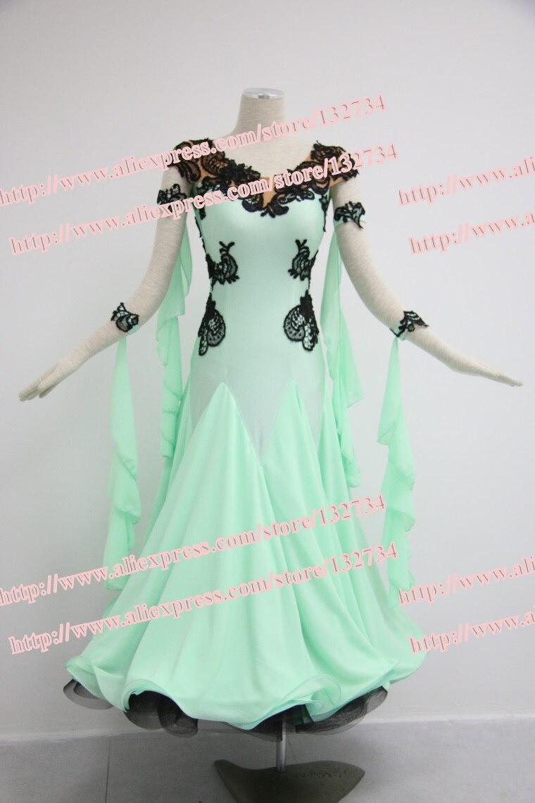 Tailor Made Elegant ballroom Standard juvenile font b dance b font clothing Salsa font b Tango