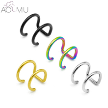 AOMU-1-Pcs-16G-Black-Stainless-Steel-2-Rings-Ear-Cuff-Clip-On-Helix-Cartilage-Ring.jpg_640x640_