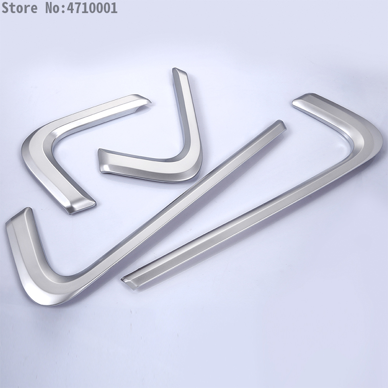 4pcs set Car Interior Accessories Side Door Molding Trim For Land Rover Range Rover Sport 2014 2015 2016 2017 Styling ABS Chrome in Interior Mouldings from Automobiles Motorcycles
