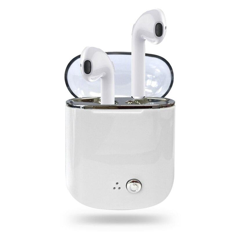 Mini TWS V4.2 auricular inalámbrico Bluetooth par de auriculares Auriculares auriculares estéreo con el Mic para todo el teléfono elegante
