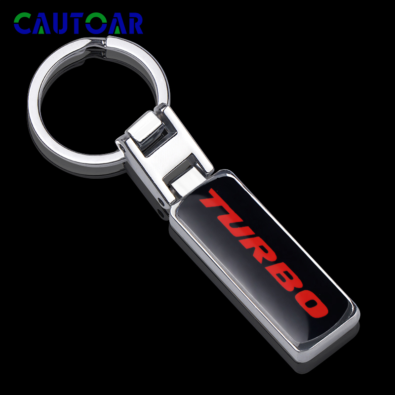 3D Car Styling Metal <font><b>Keyring</b></font> Keychain Key Chain Key Ring For <font><b>Ford</b></font> Focus 2 3 <font><b>ST</b></font> RS Fiesta Mondeo Tuga Ecosport Fusion image