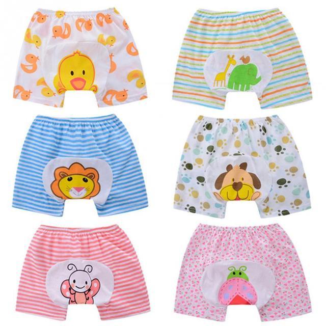 Summer baby boys girls harem shorts baby girl cartoon Animal printed design loose-fitting short pants baby boy shorts 2018