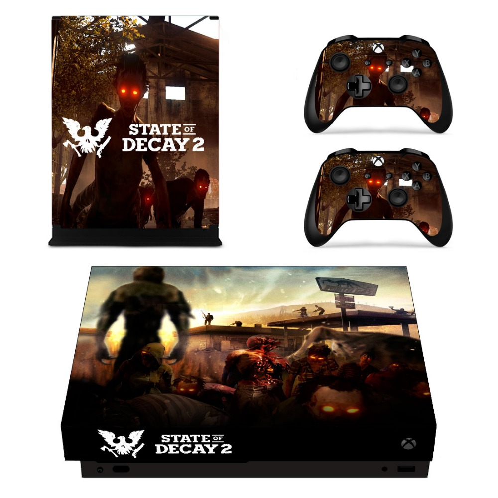 State of Decay 2 Skins For Xbox One X Console & Controller Popular Stickers Vinyl Decals Skin Game Accessories Cover