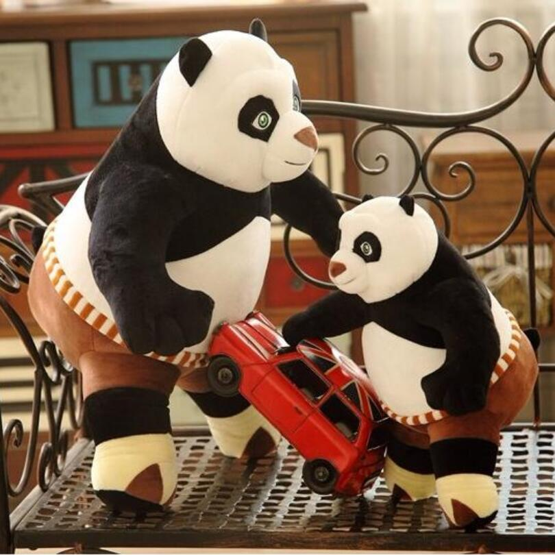 New Hot 30cm 35cm Cartoon Kung Fu Kungfu Panda 3 Stuffed Animal Toy Panda Plush Toy