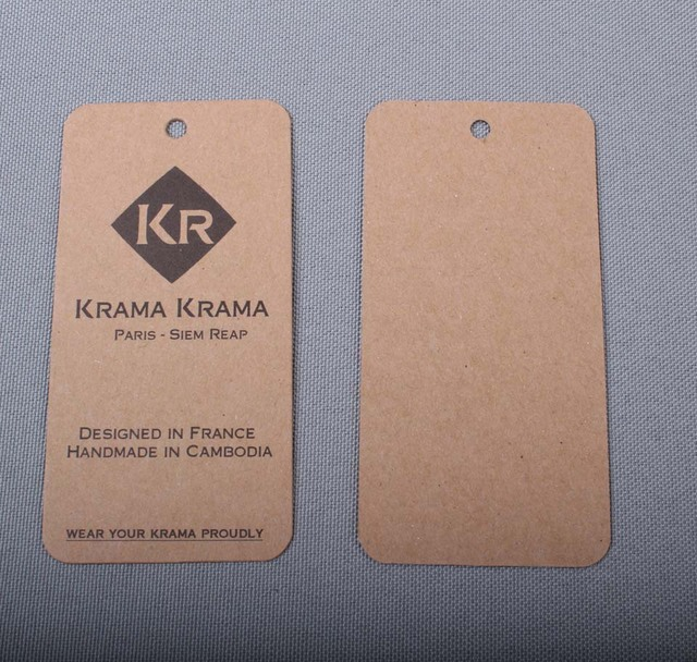Aliexpress.com : Buy Personalized printed kraft tags paperboard ...