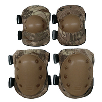 Sports Military Protection KneePads Gear Hunting Equipment Tape Elbow Tactical Knee Pads 4 Pcs Set