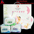19 Pack/lot Winalite Lovemoon Sanitary Pads Anion Pads Feminine Hygiene Anion Sanitary Napkin Organic Cotton Love Moon Anion