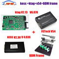 DHL Free ECU Programmer Tool V2.30 KESS V2+KTAG V2.13+FG TECH Galletto 4 V54+BDM FRAME Full Adapters No Tokens Limited in Stock
