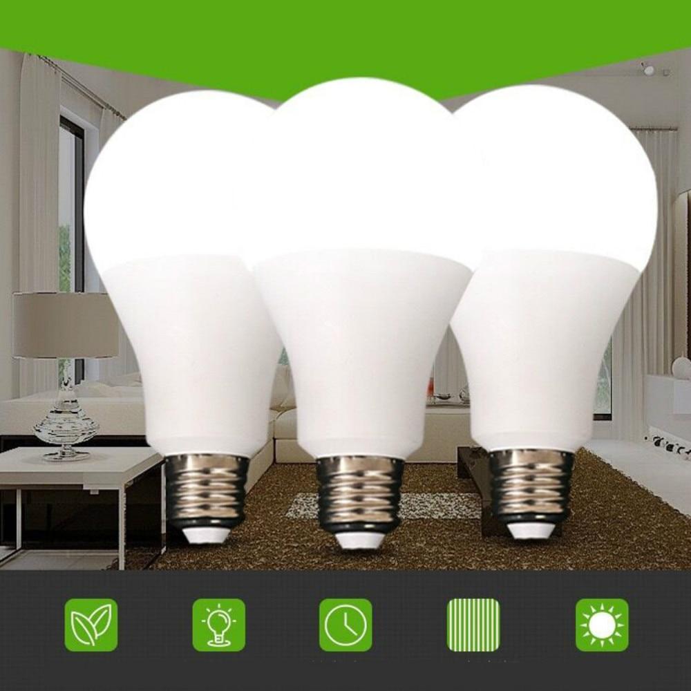 Energy Saving LED Lamp E27 LED Bulb Light AC 220V 3W 5W 7W 9W 12W 15W 18W Lampada LED Spotlight Table Lamps Bombilla Light