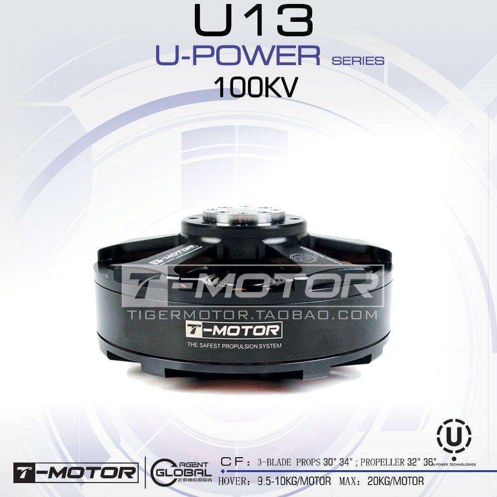 T-MOTOR professional U-POWER MOTOR U13 KV100 New Product drone brushless motor