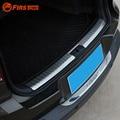 Para VW Tiguan 2009-2015 Retaguardas Carro Cauda Bagageira Trunk Bumper Protector Guard Sill Scuff Guarnição Capa Para VW Volkswagen