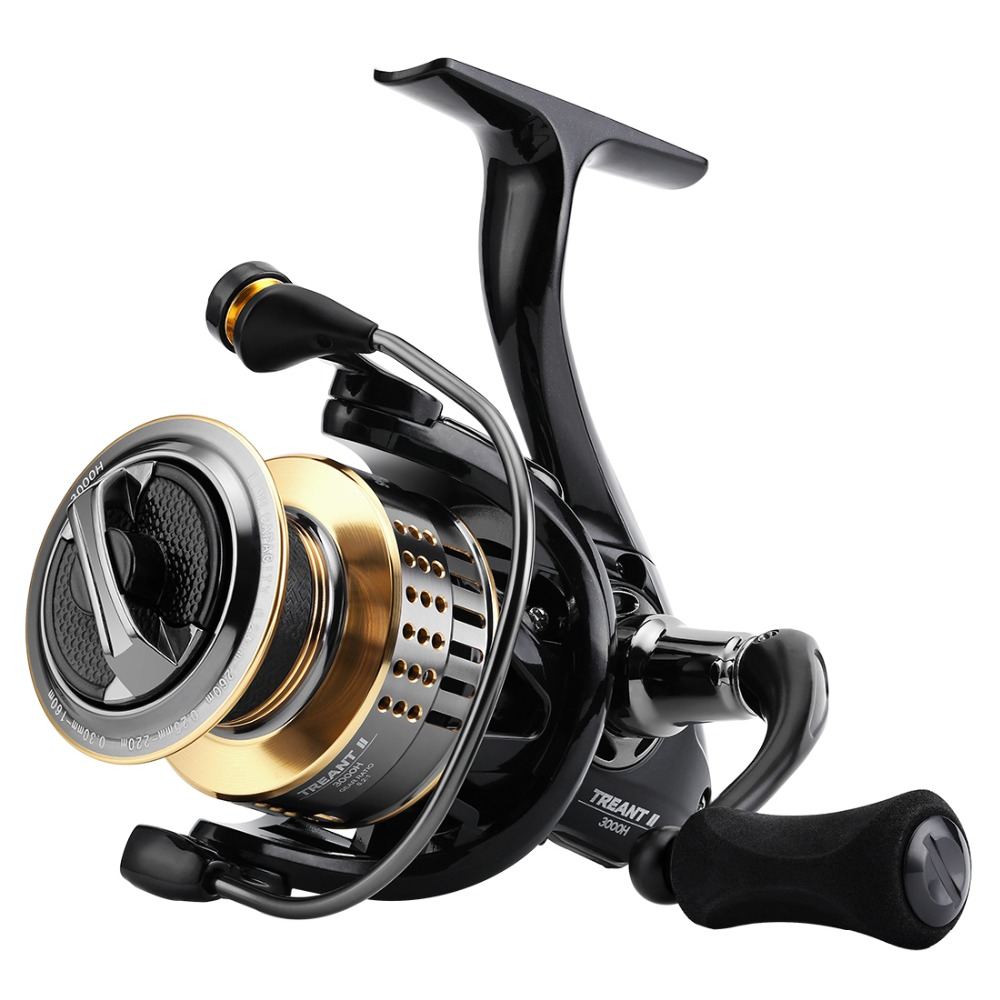 SeaKnight TREANT II Spinning Reel Carbon Fiber Drag 13KG Max Power Aluminum Spool Wheel 1000H 2000H 3000H 4000H Model Tackle Fishing Reels  - AliExpress