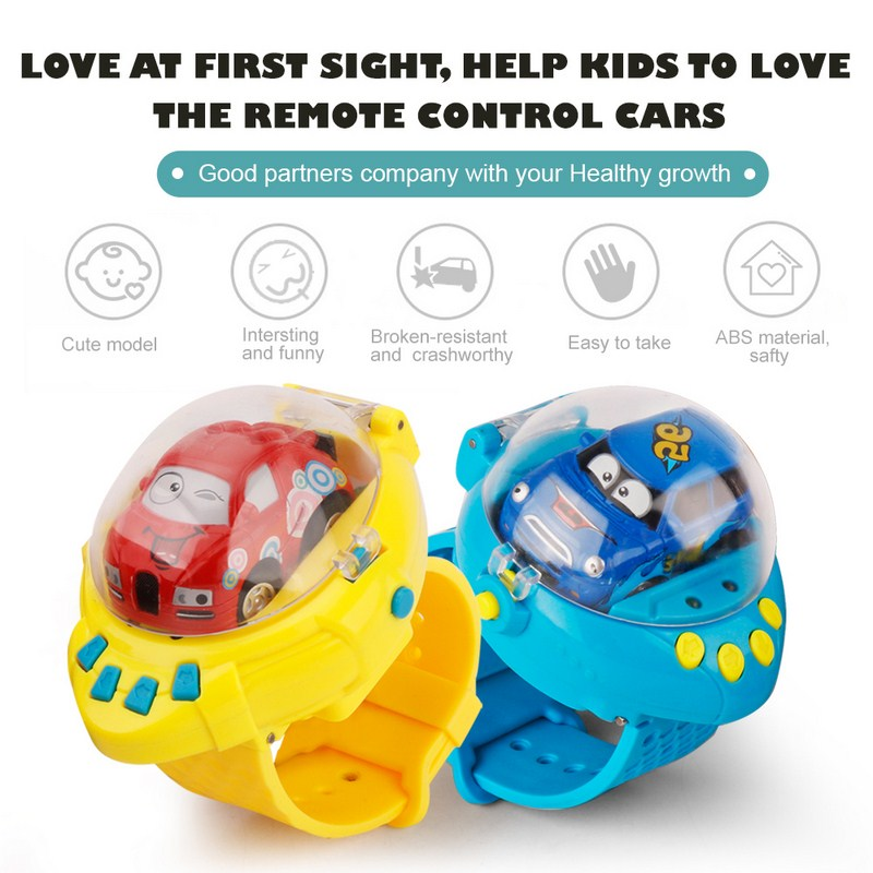 RC Car 2.4 G 4CH 4WD 4x4 Driving Toys Children Mini Car Toys in Watch with Gravity Sensor for Children Birthday Gifts