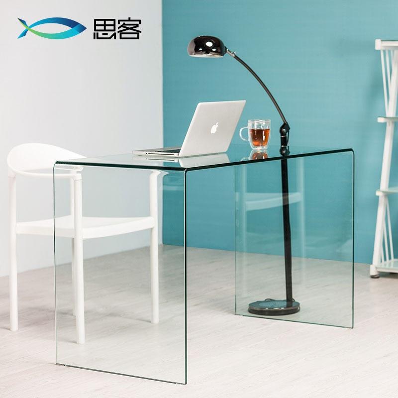 office small contemporary steel computer modern glass uk furniture desks corner home desk