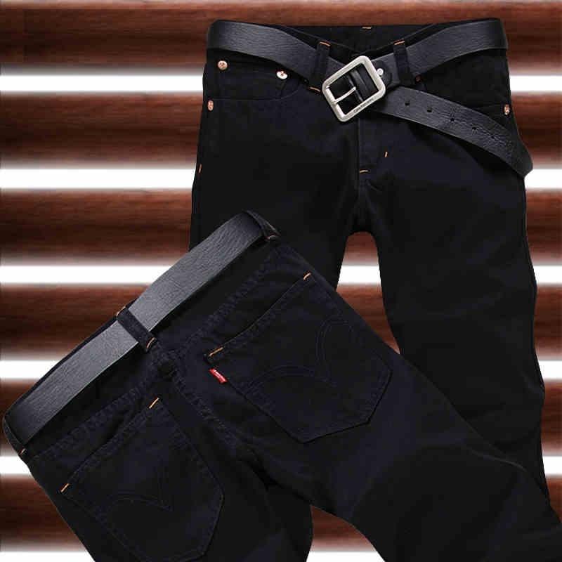 2016 New Arrival Hot Sale Fashion Black Straight Leisure & Casual Brand Jeans Men,Wholesale&Retail Denim Cotton Men Jeans,33077
