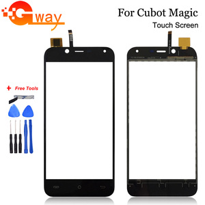 5.0'' Mobile Phone Touch Panel For Cubot Magic Front Touch Screen Glass Digitizer Panel Lens Sensor Tools Adhesive