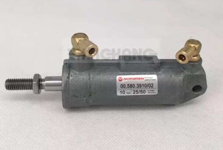 2 Pieces Hengoucn Pneumatic Cylinder D25 H50 Cylinder with Copper Head 00.580.3910 2 Pieces Hengoucn Pneumatic Cylinder D25 H50 Cylinder with Copper Head 00.580.3910