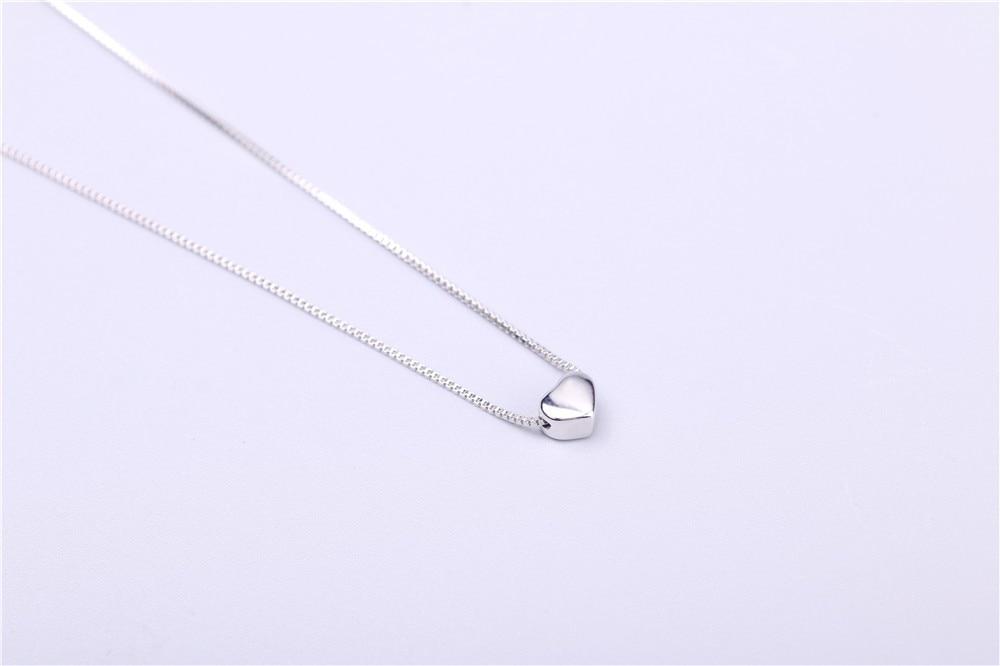aeProduct.getSubject()  AAA 100% Silver 925 Necklace Shiny Coronary heart Necklace Sterling Silver Necklaces & Pendants FREE SHIPPING HTB1 lrNKVXXXXXKXpXXq6xXFXXXU