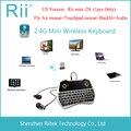 Rii Mini i28 K28 Беспроводная клавиатура с аэро маус, с тачпадом, подключается к HTPC Android/Smart TV/компьютеру