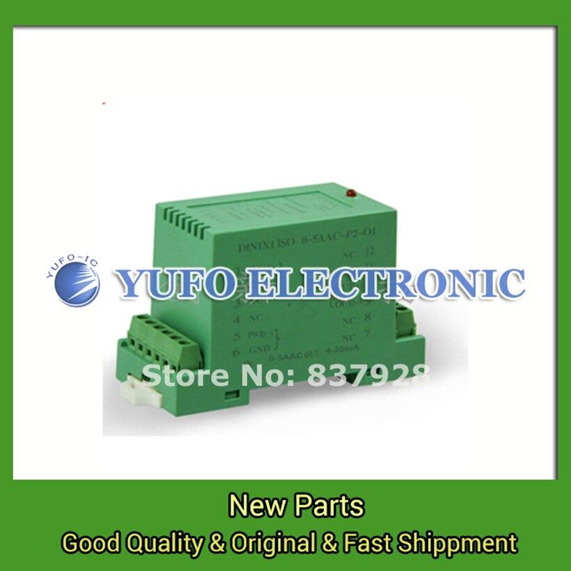 Free Shipping 1PCS DIN1X1 ISO U1-P1-O4 proxy rail isolation transmitter signal isolation amplifier
