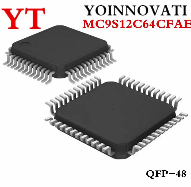 10 pcs/lot MC9S12C64 MC9S12C64CFAE 9S12C64 48-LQFP HCS12 MCU 16BIT 64KB FLASH 48LQFP meilleure qualité