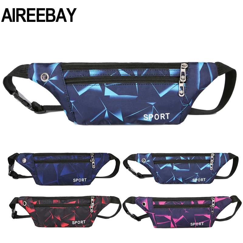 AIREEBAY Women Fanny Pack Banana Waist Bag New Brand Bag For Girls Belt Waist Pack Small Chest Bag Phone Pouch Belly Bag