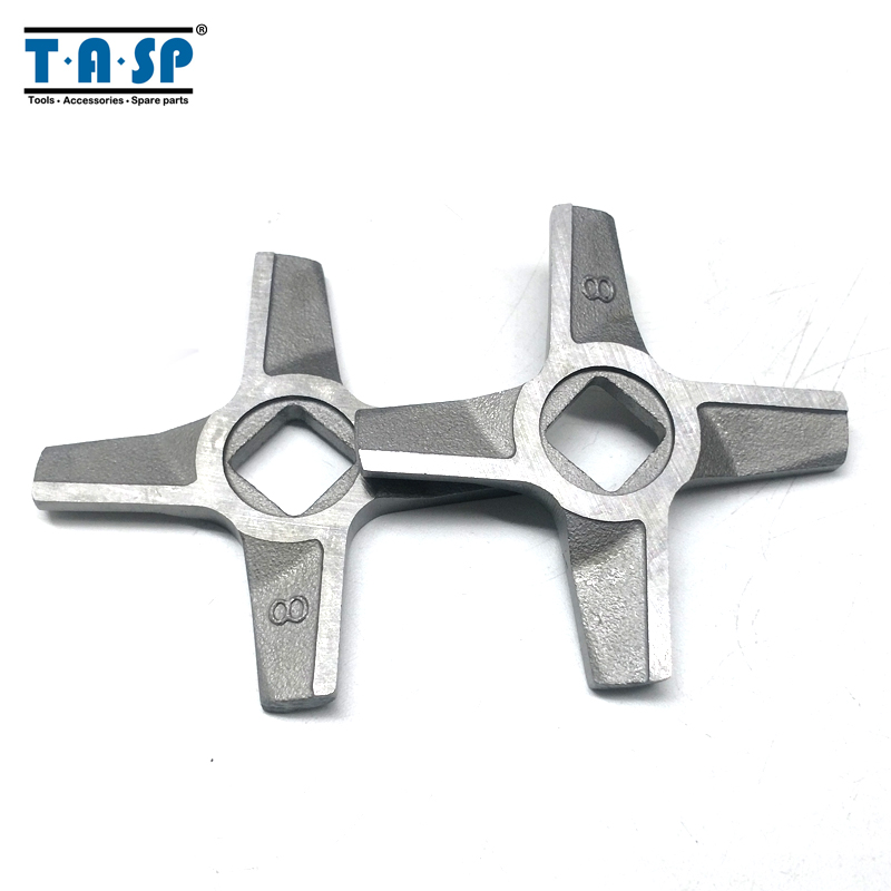 2pcs Knife For Meat Grinder Blade Mincer 8# MDP-118 Spare Parts For Zelmer  987.94 987.83 ZMM Kitchen Appliance