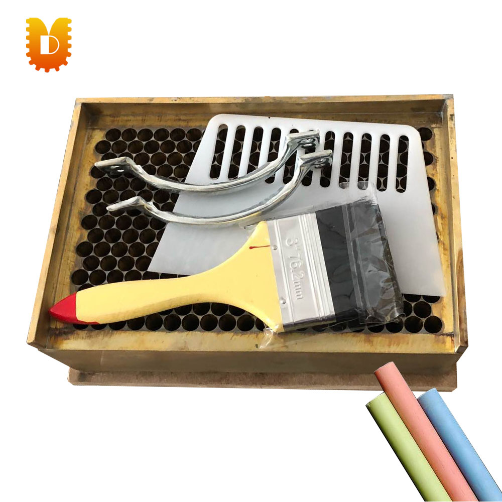 300pcs/time school use dustless copper chalk mould/chalk maker/chalk making machine 10pcs pack korea colorful chalk dust free chalk non toxic chalk
